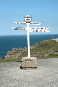 Cornwall Lands end