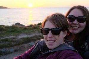 Cornwall selfie