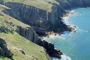 Cornwall wrecks