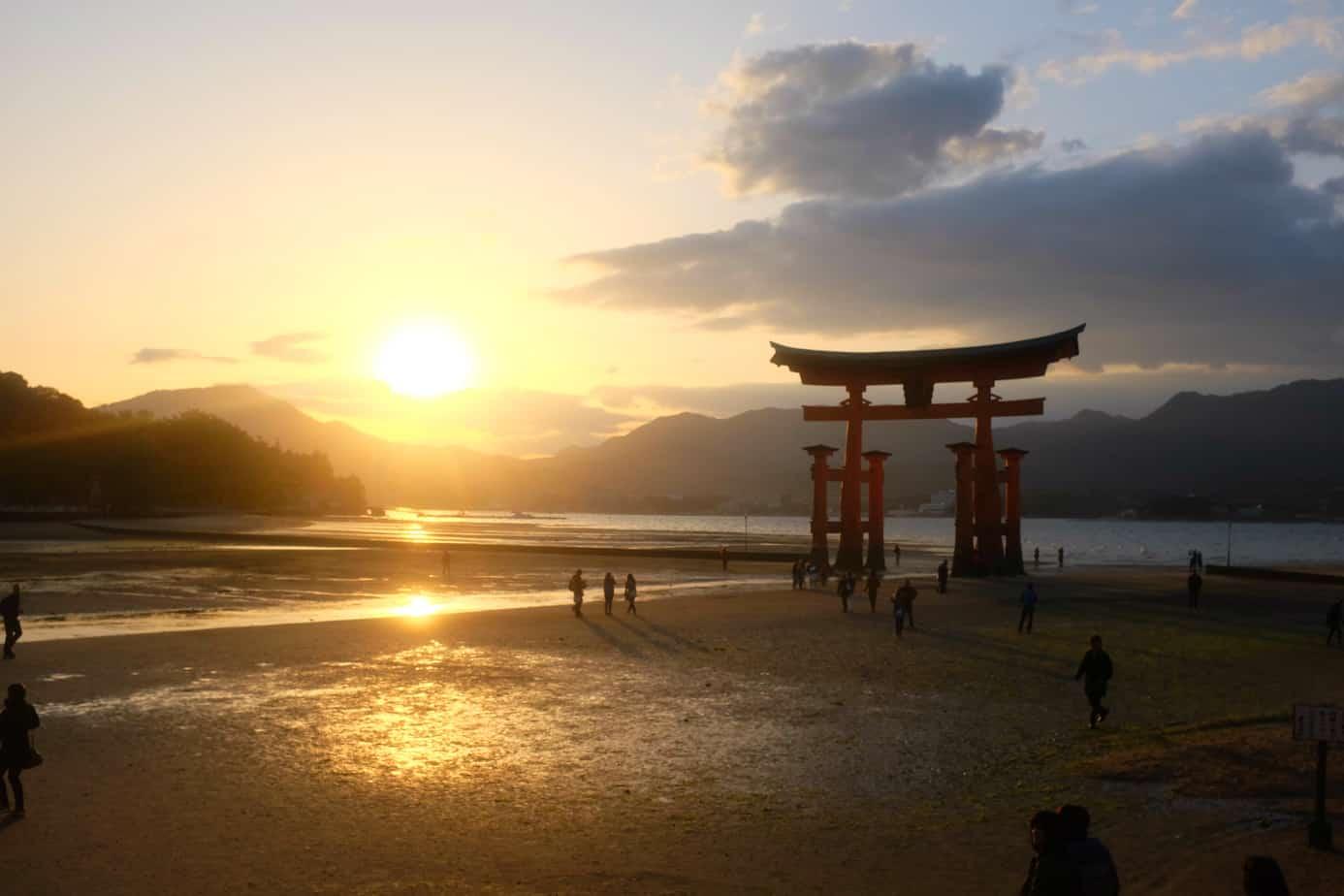 Itsukushima Island in Japan
