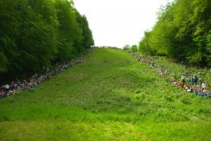 Coopers Hill cheese rolling