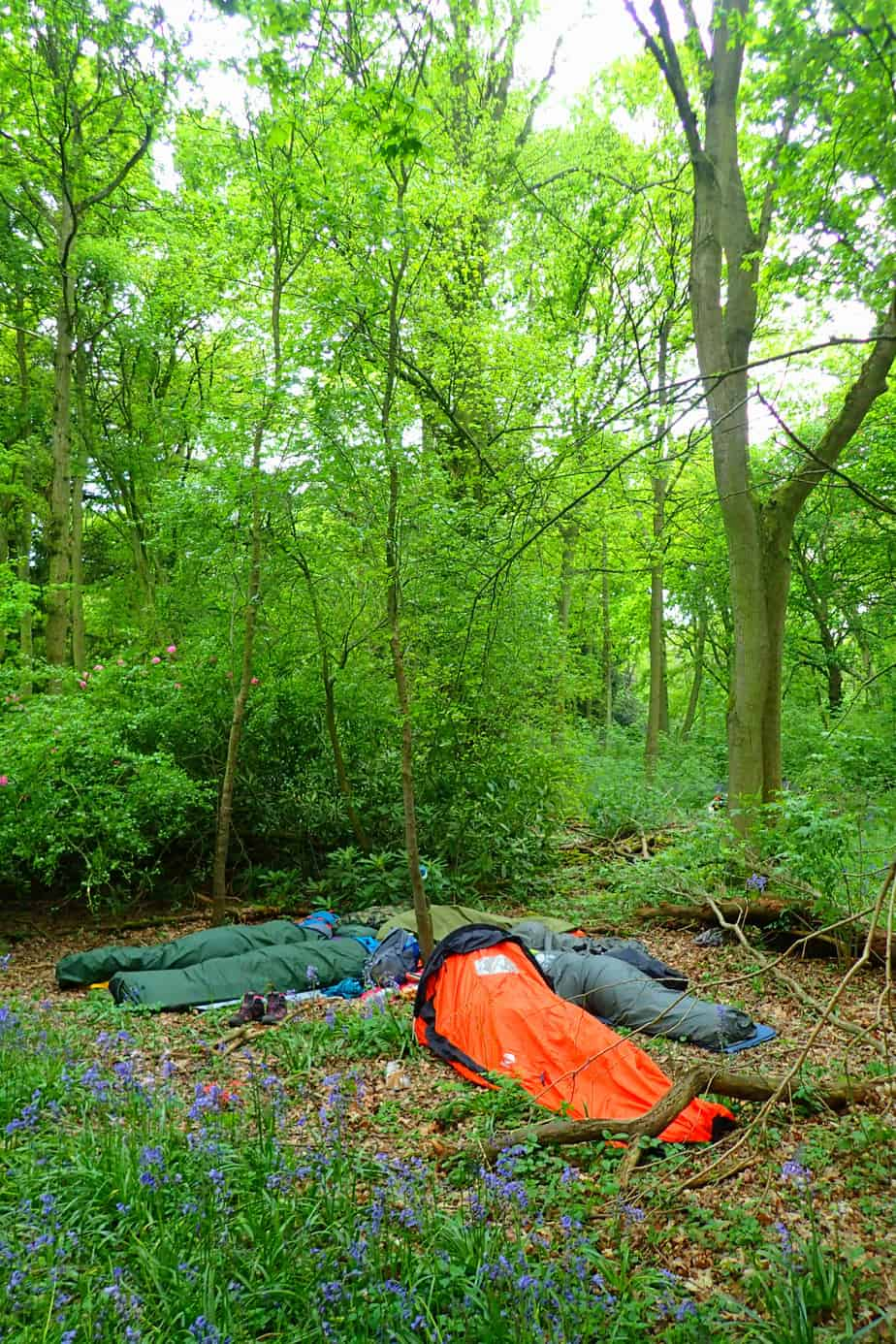 free adventure in bivvy bags