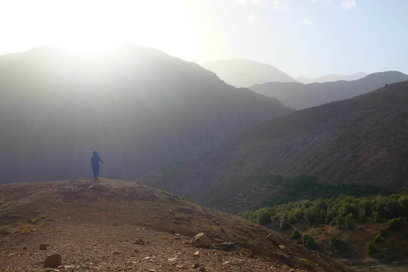 Hiking in Morocco, adventure funding options