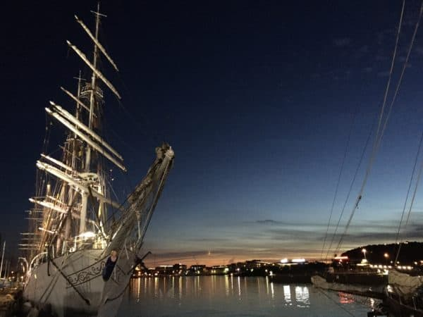 Sailing Tall Ships regatta