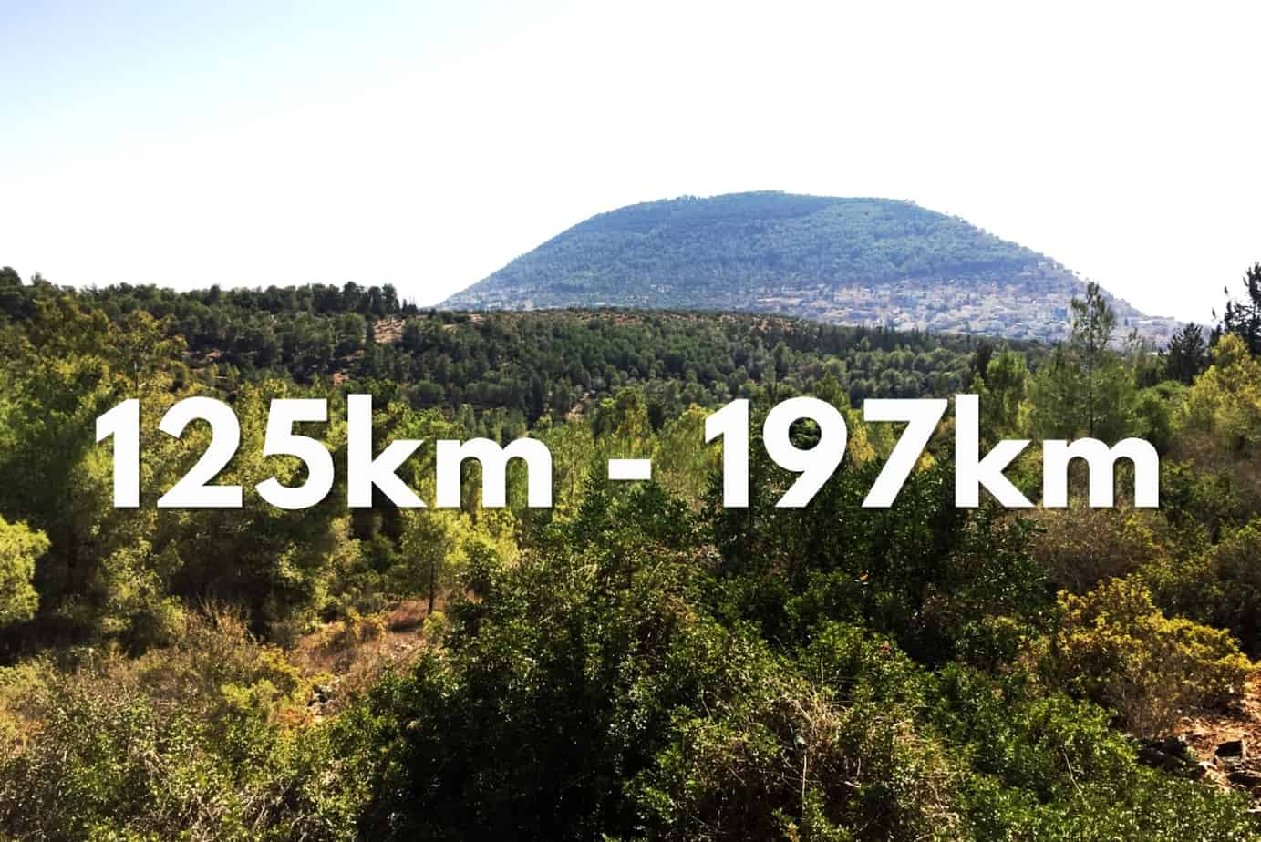125 - 197km