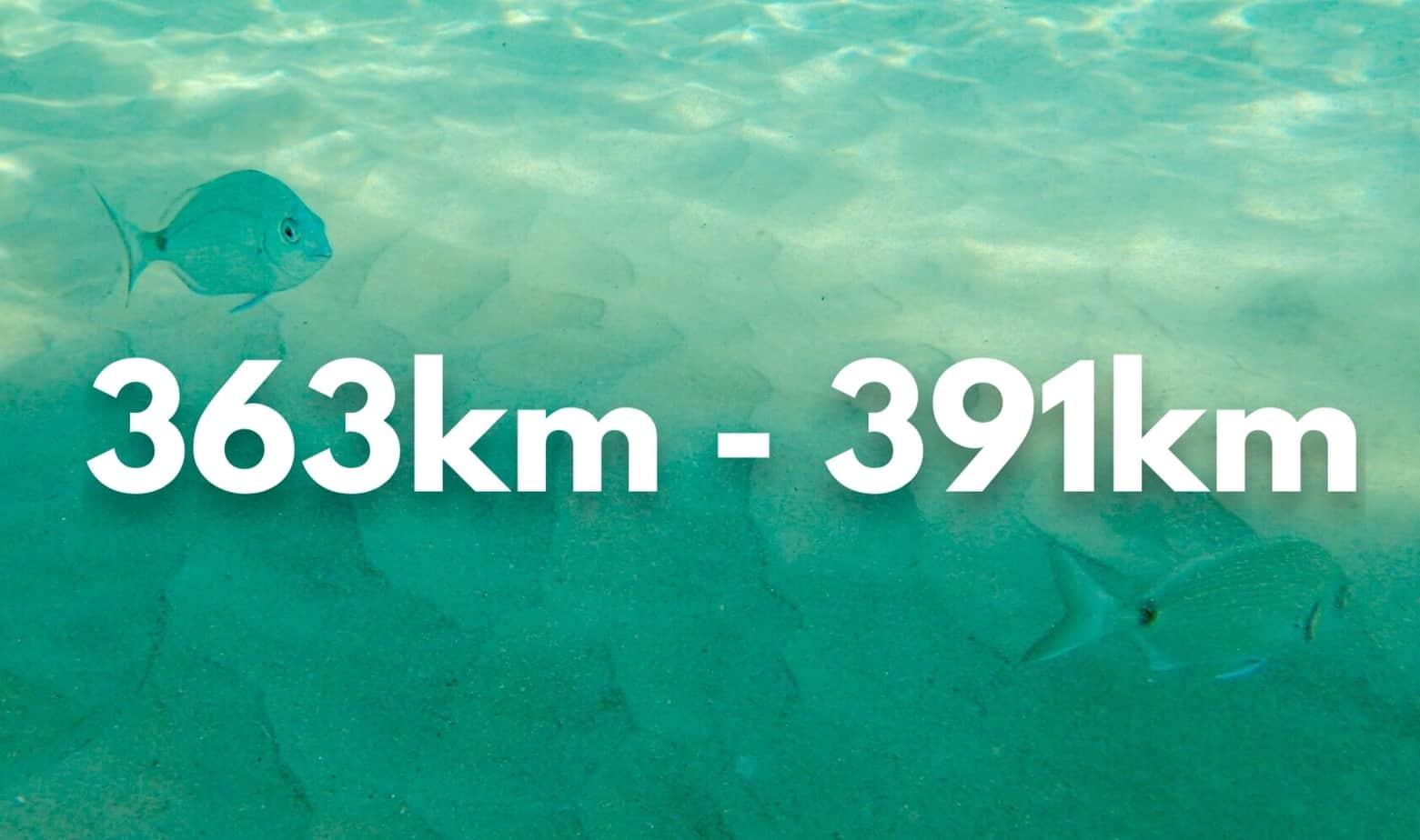 363 - 391km