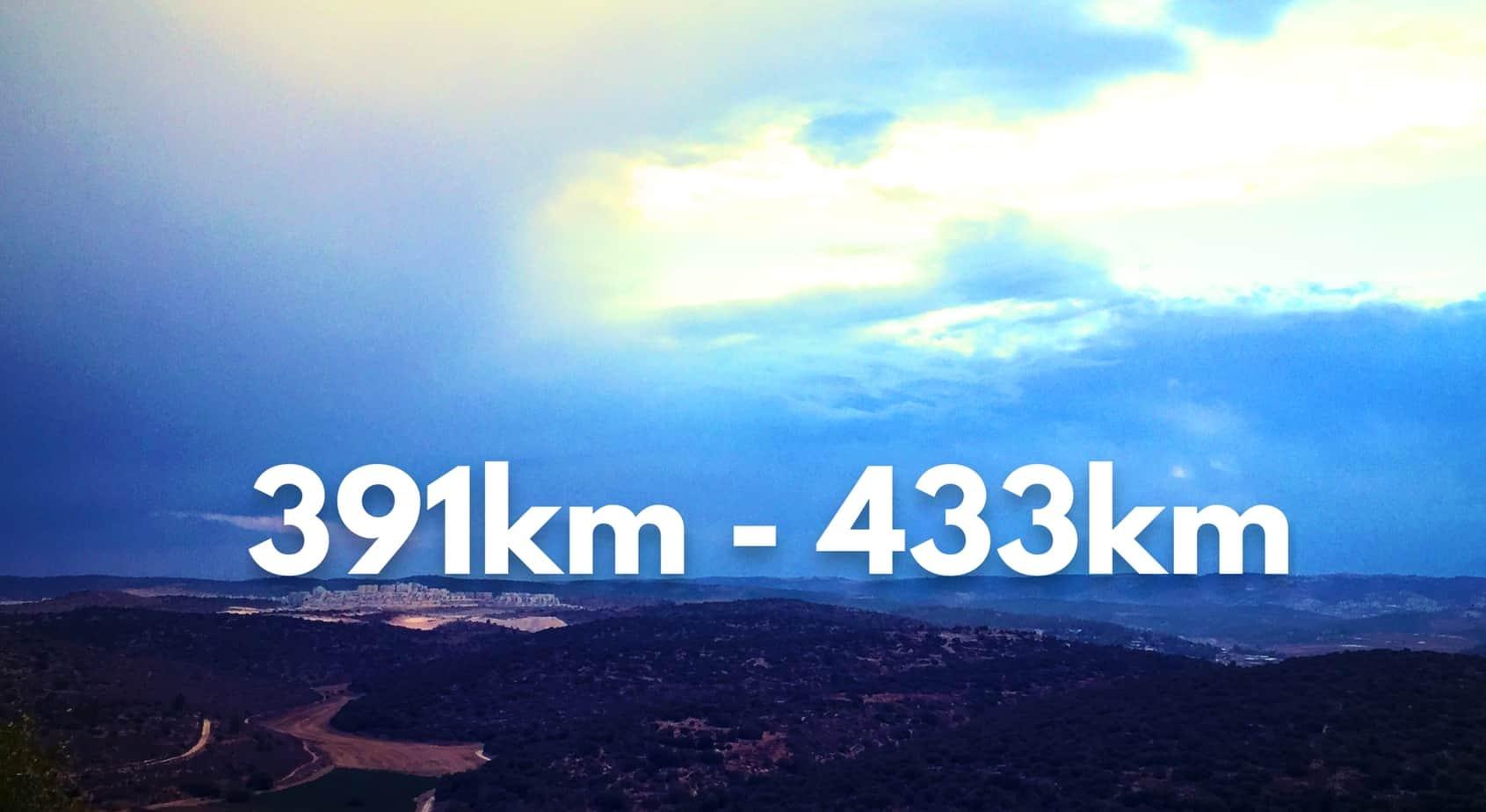 391-433km
