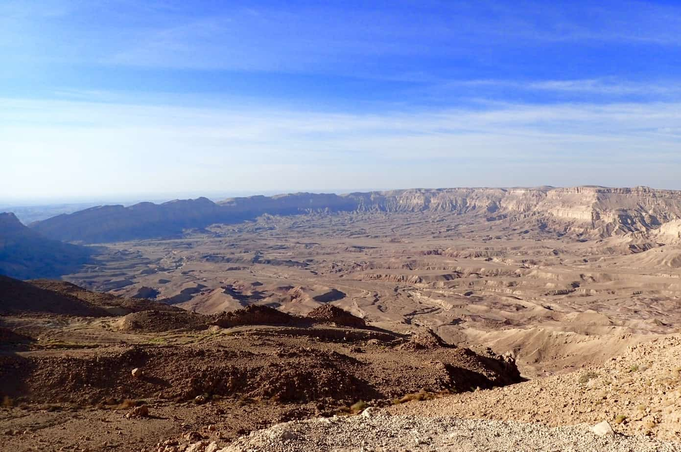 Makhtesh Hakatan views