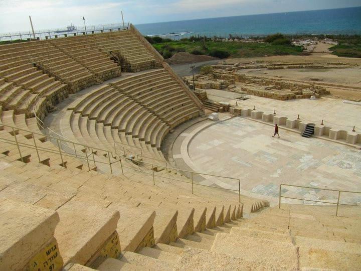 Caesarea roman amphitheatre