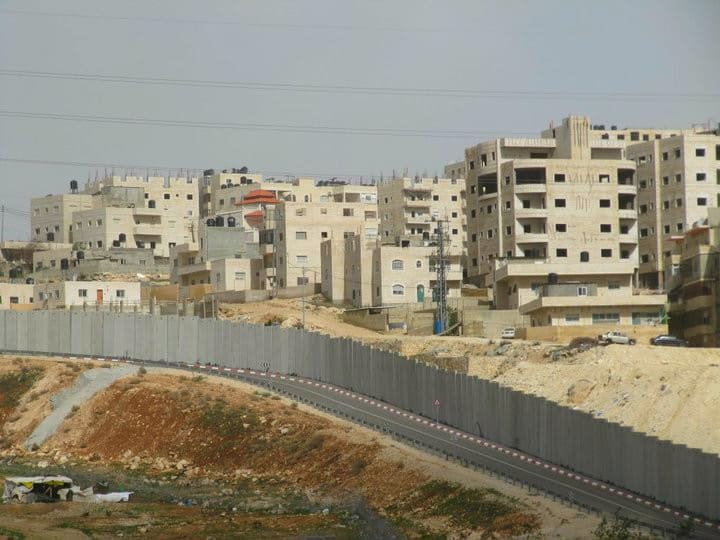 Separation wall in Israel