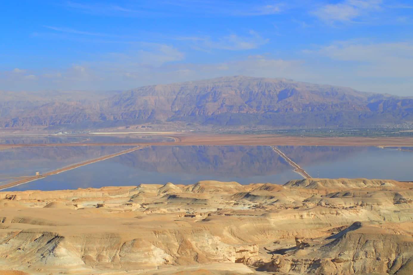 Dead sea reflection