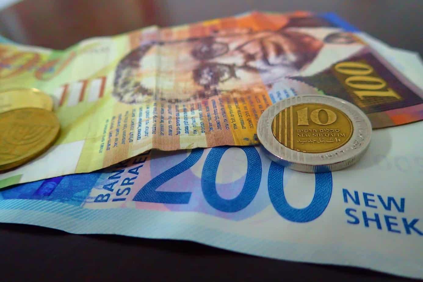 Money, shekels