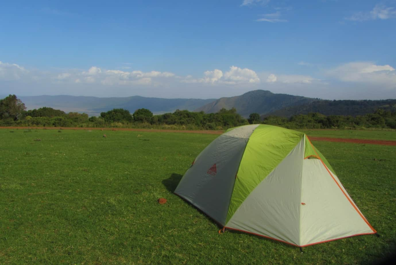 Camping at Simba Campsite