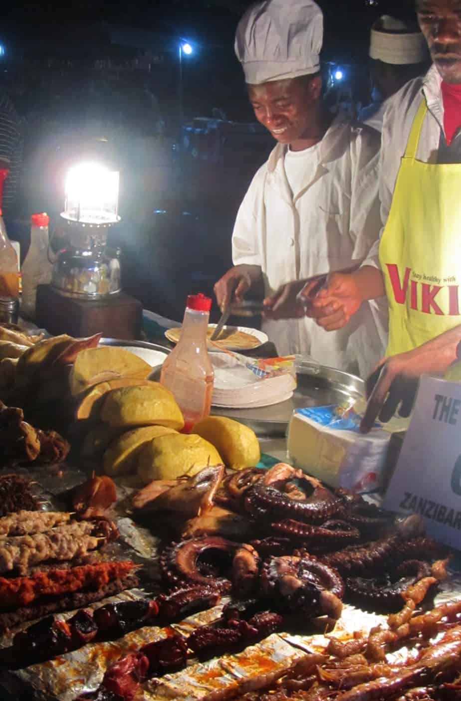Night market in Stone Town