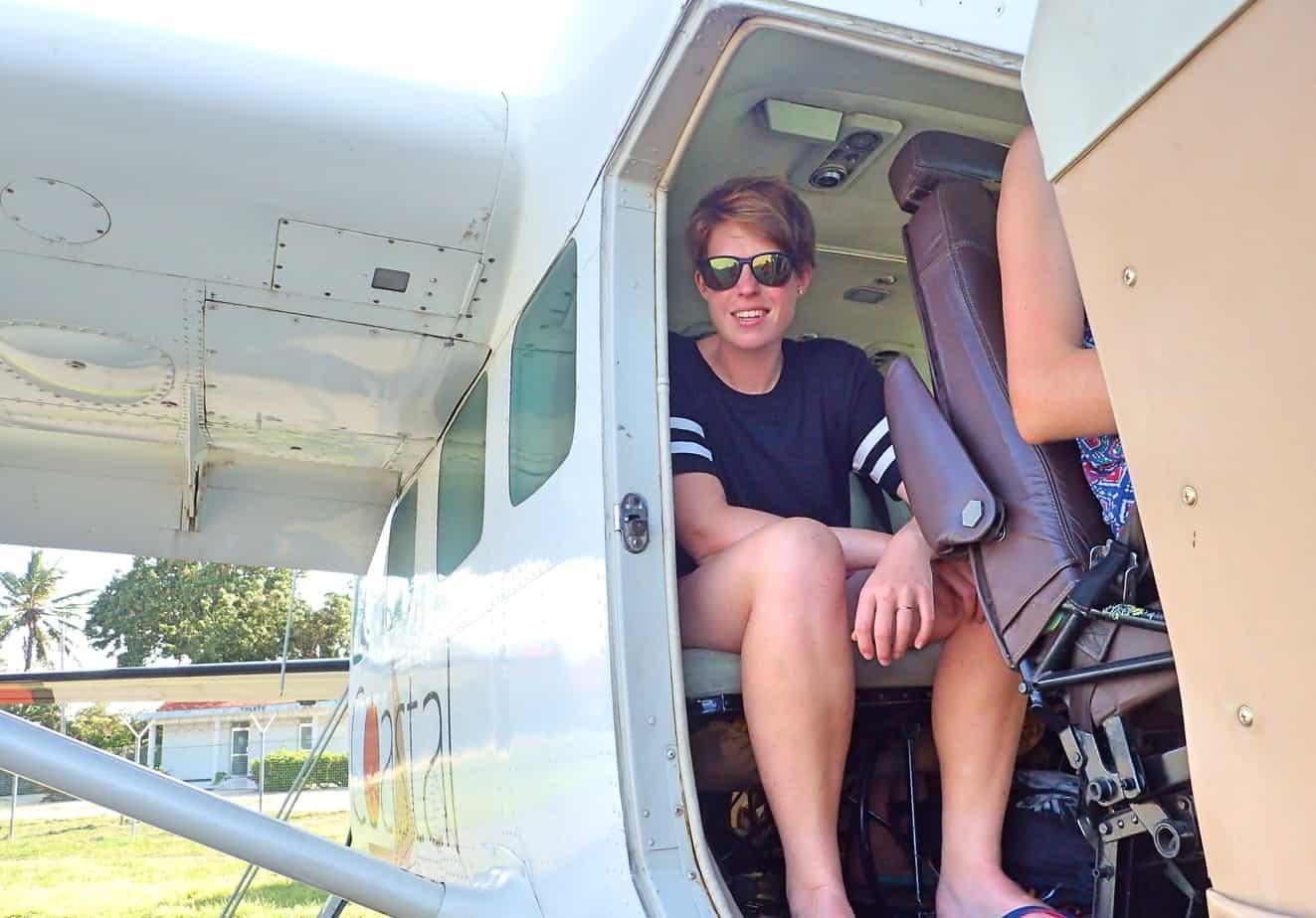 Flying to Mafia Island