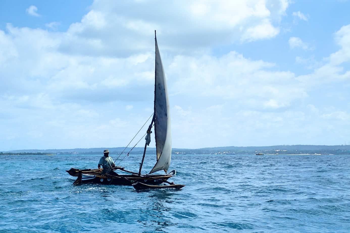 Sailing to Prison Island