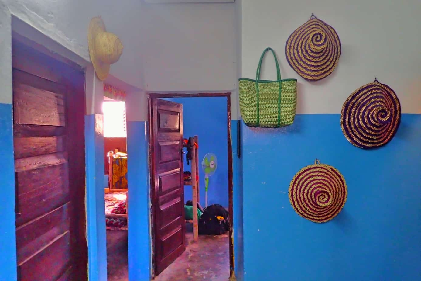 Visiting Zanzibar on a budget, stay at The Blue House