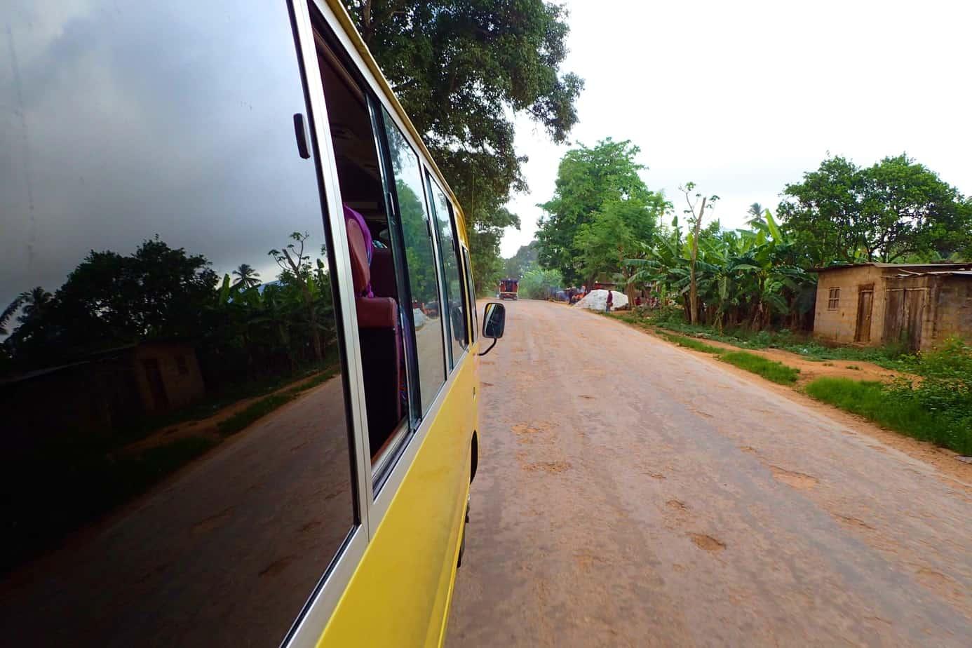Dala dala on Zanzibar Island