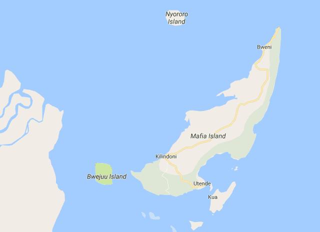 How to get to mafia island