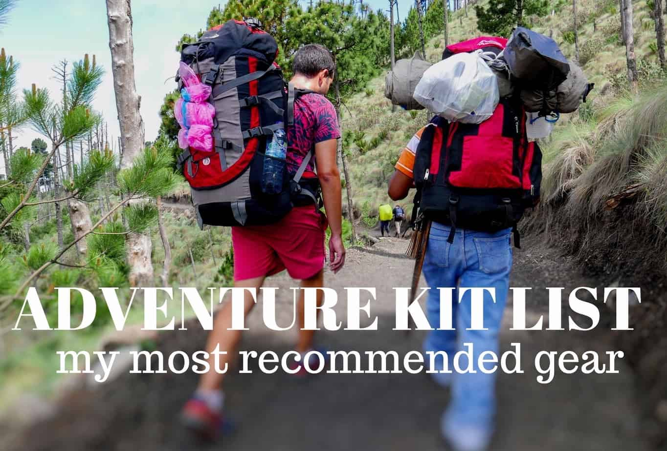 Adventure kit list