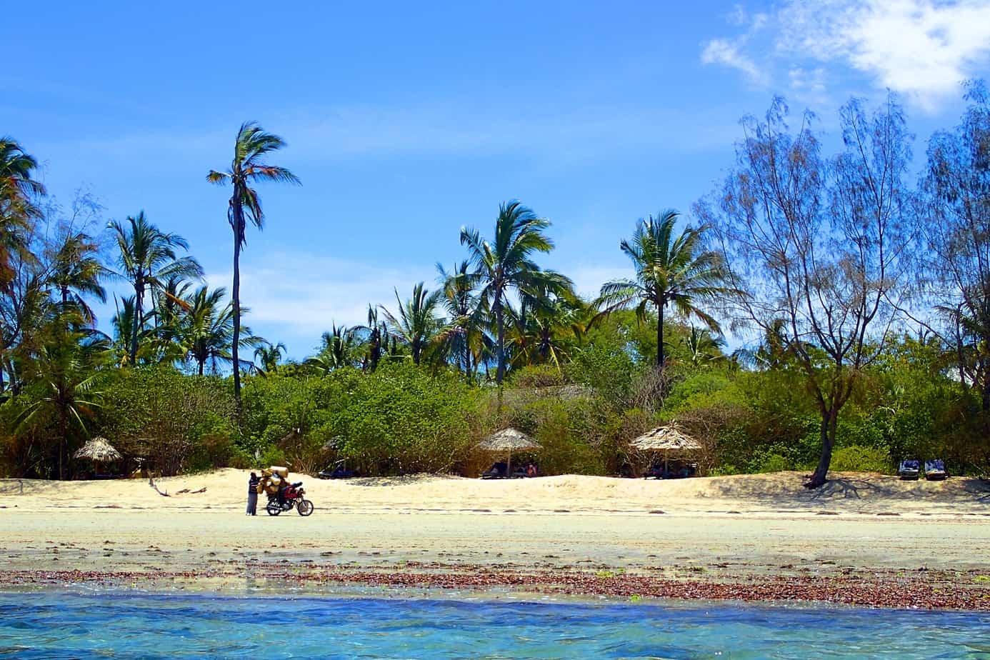 Pangani beach, Tanzania