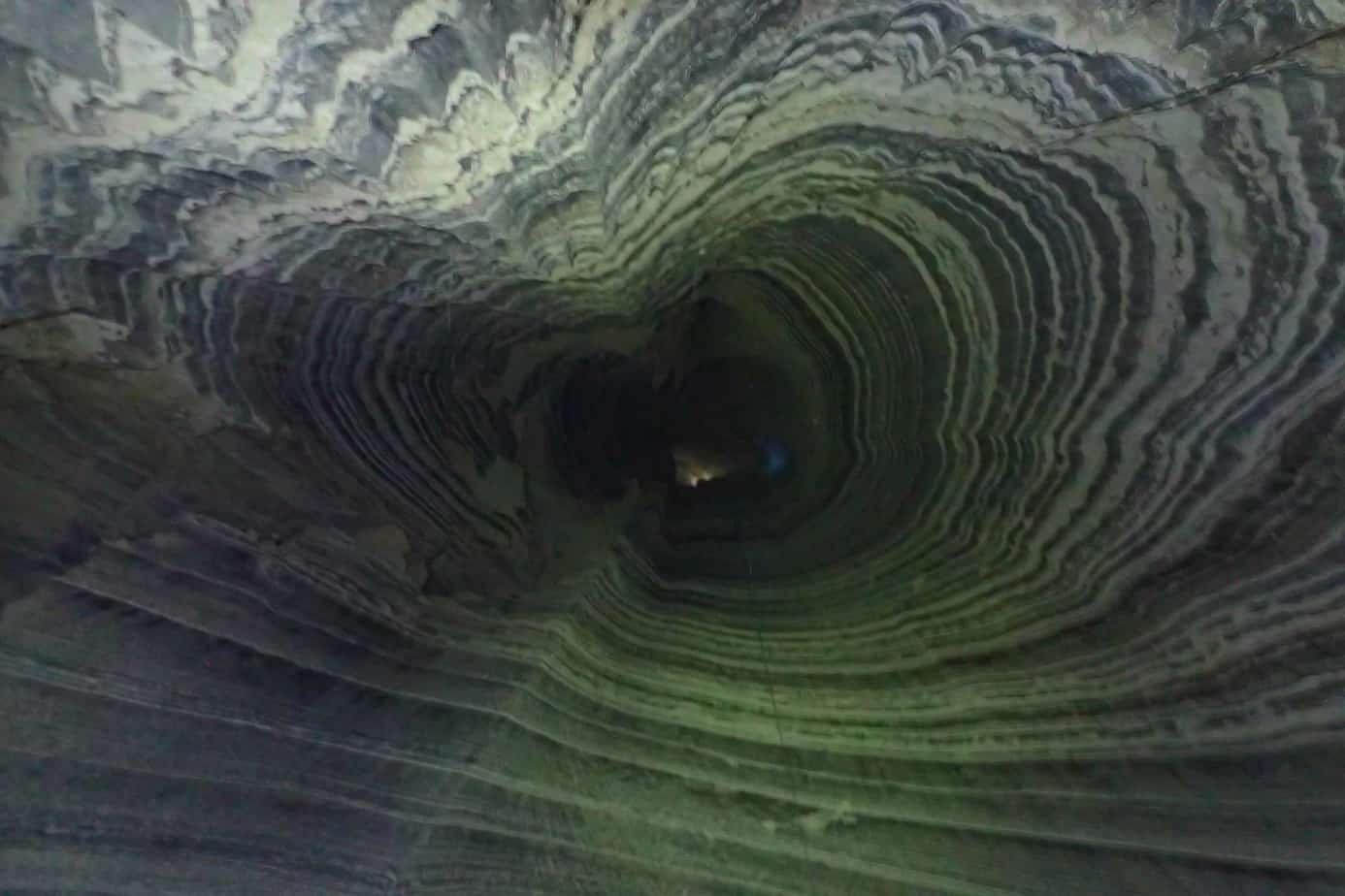 Sodom salt cave Israel