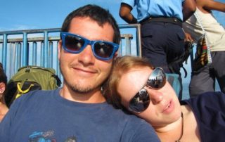 How I met my husband travelling