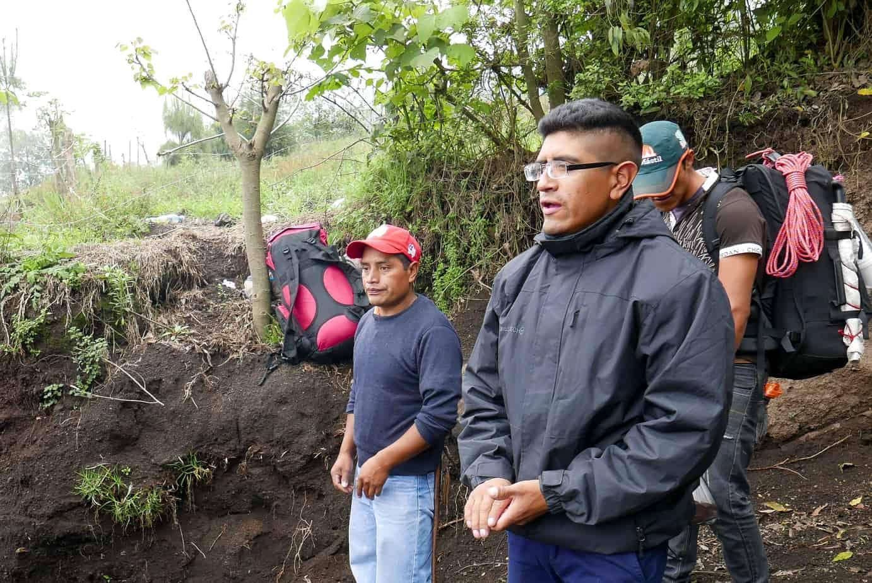 Acatenango volcano Gilmer Soy Tour