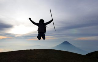 Hiking Acatenango volcano Gilmer Soy Tours