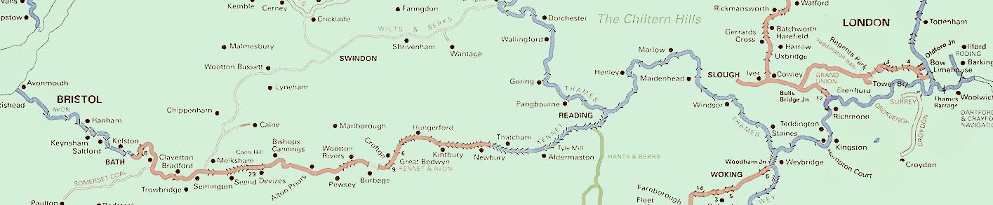 Bristol to London in Kayaks