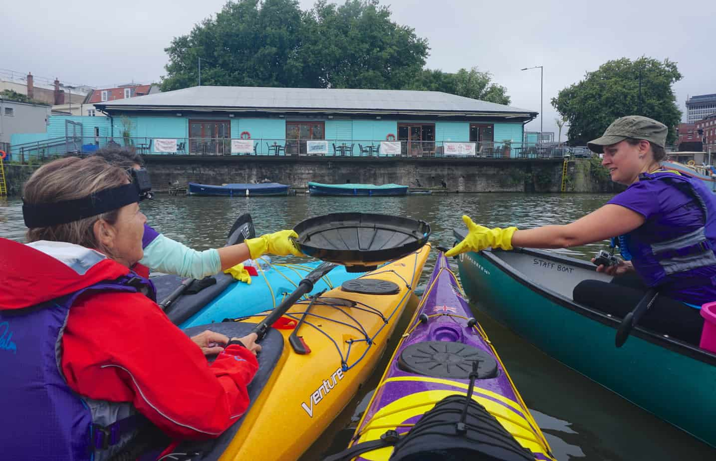 Paddle Pickup Kayak Expedition
