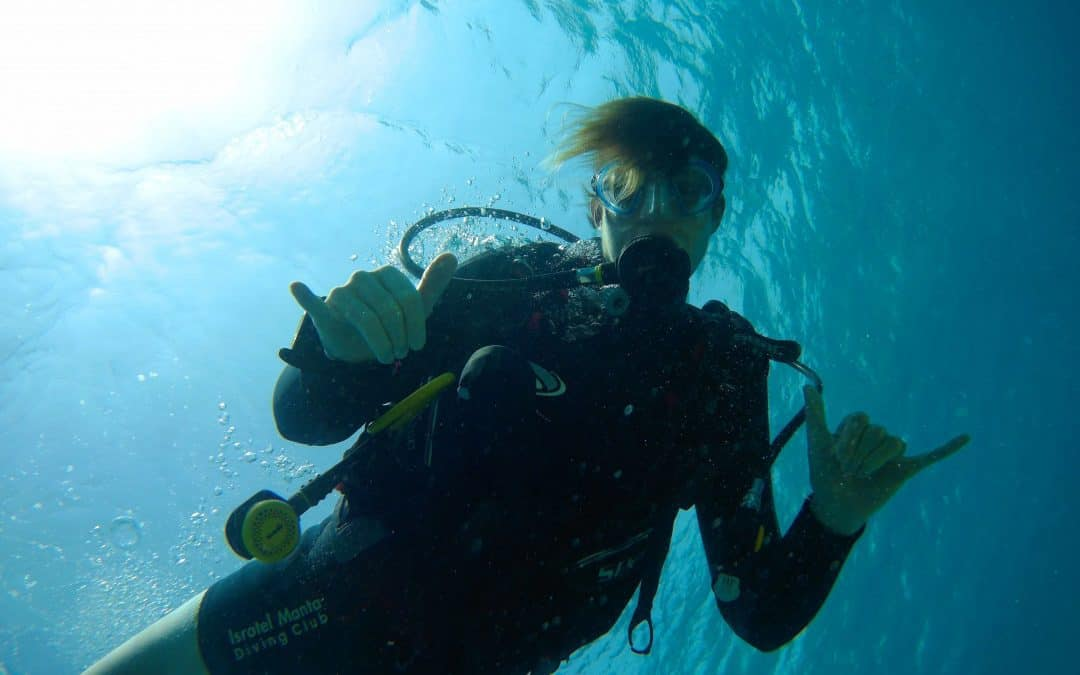 Alon Rivkind freediving course in Eilat