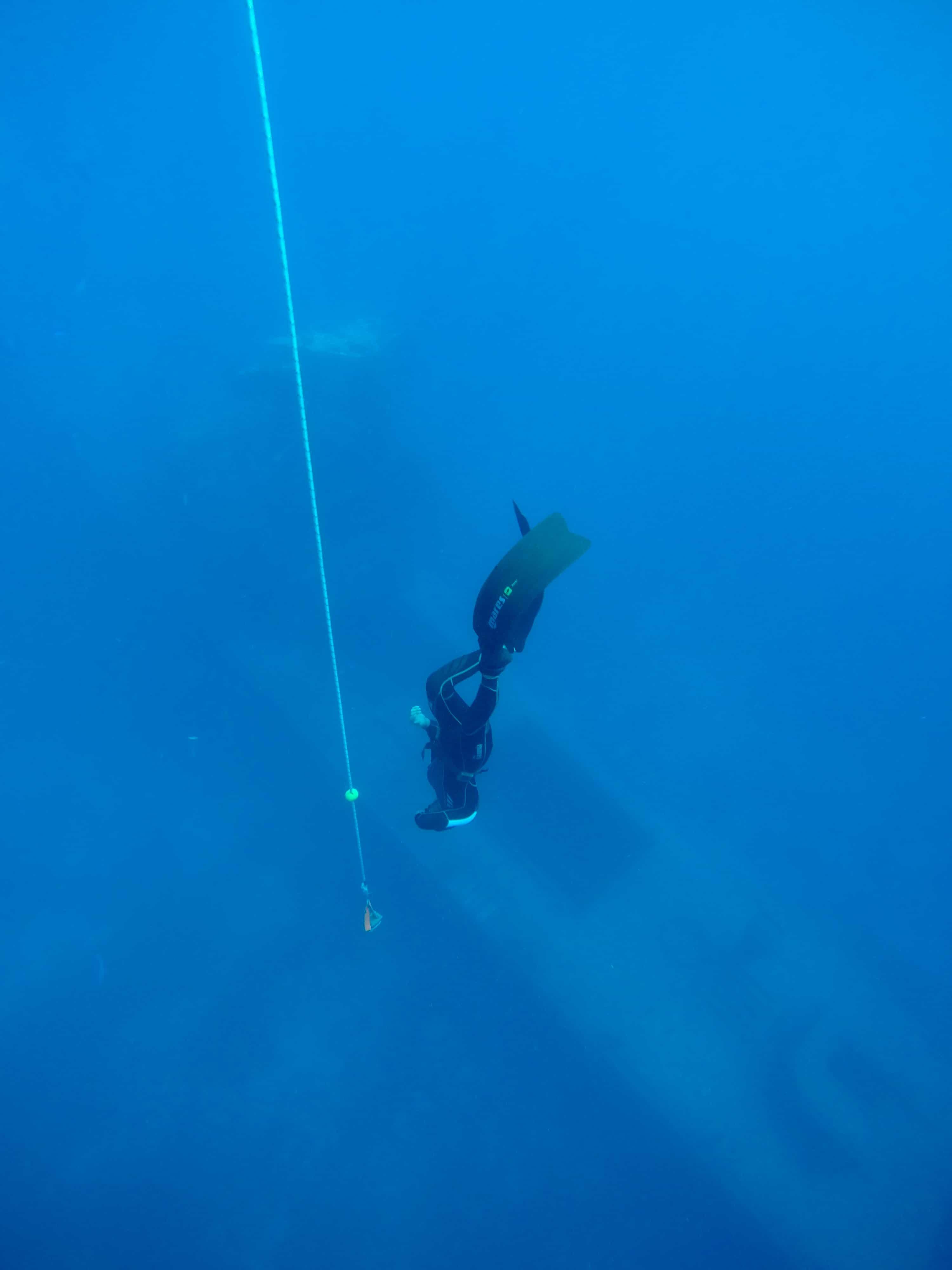 Alon Rivkind freediving course in Eilat