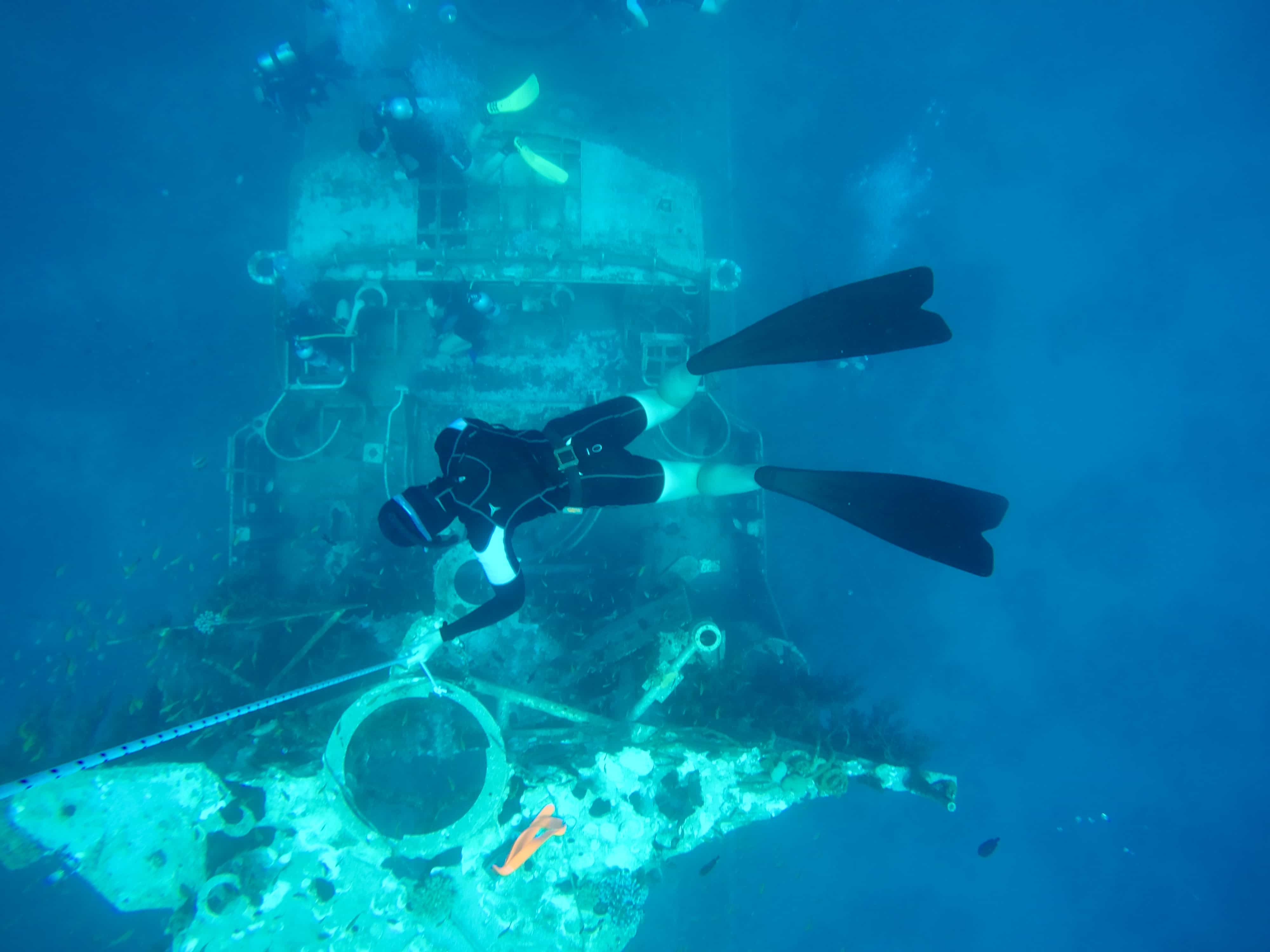 Beginner freediving course in Eilat