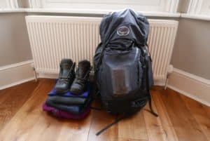 what to pack for a winter skills week