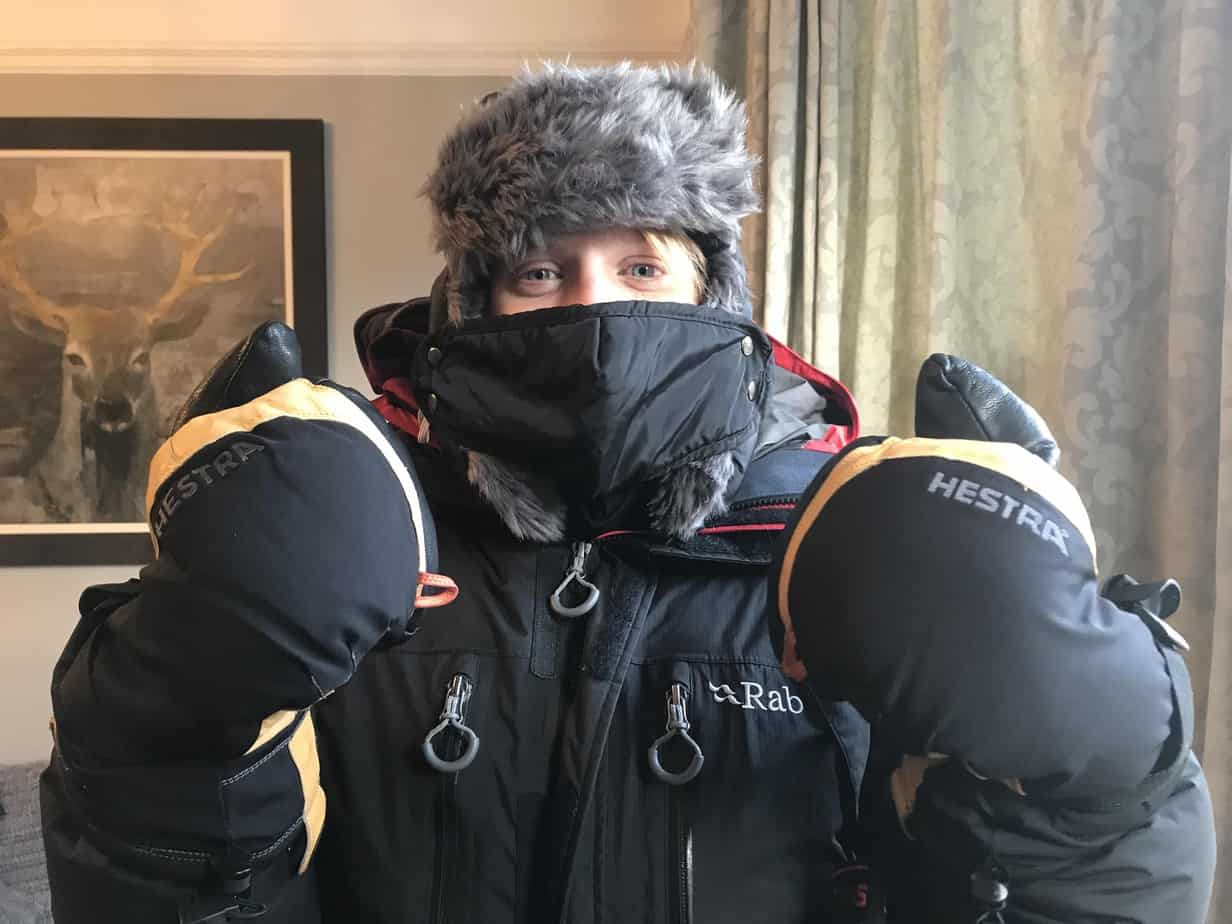 What to wear in the arctic circle - Arctic expedition clothing