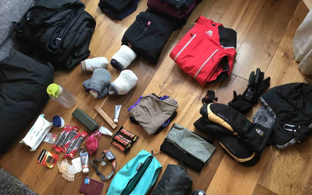 Arctic expedition clothing and kit list
