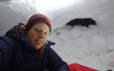 What is it like to sleep in a snow hole