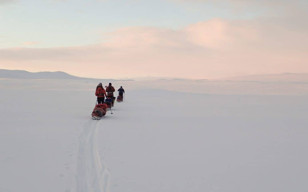 Preparing and training for an arctic pulk pulling expedition
