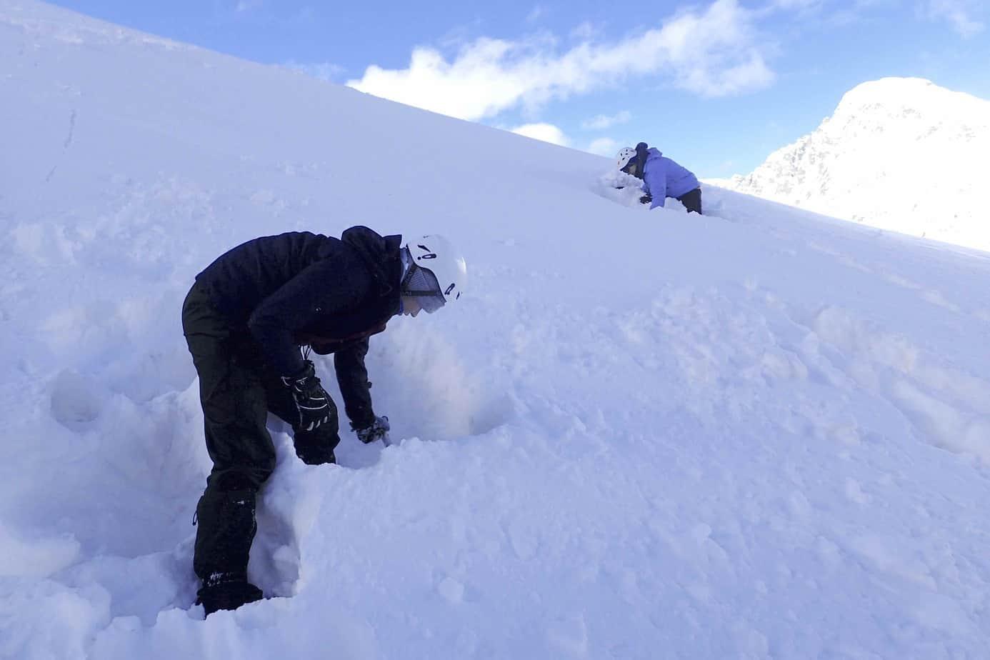 Winter skills course aneto