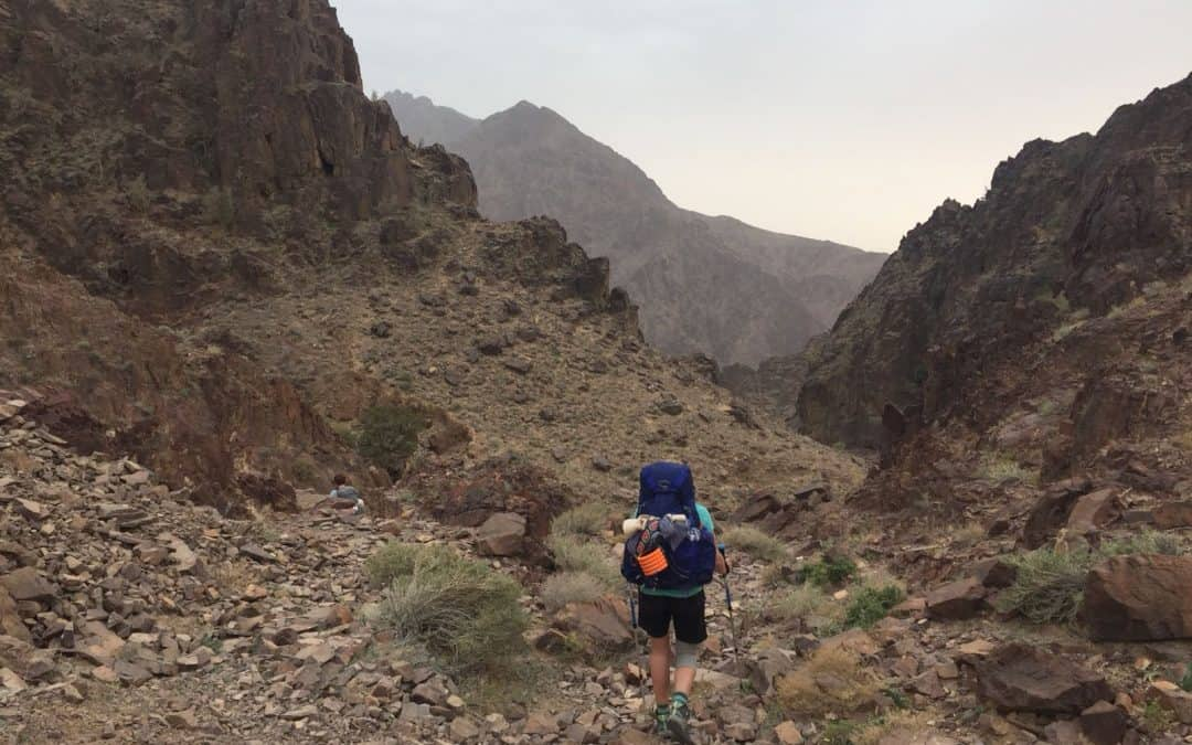 Day 1 on the Tiso Hike Jordan Expedition