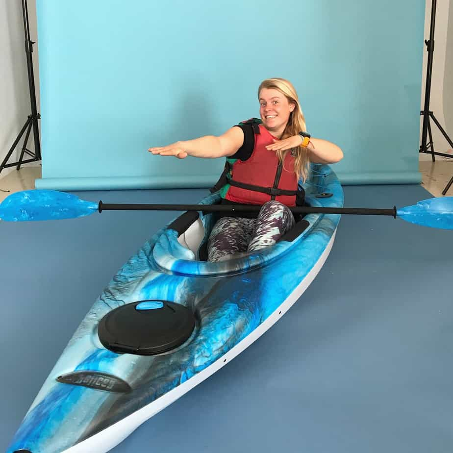 Paddle Pickup photoshoot at the Observer
