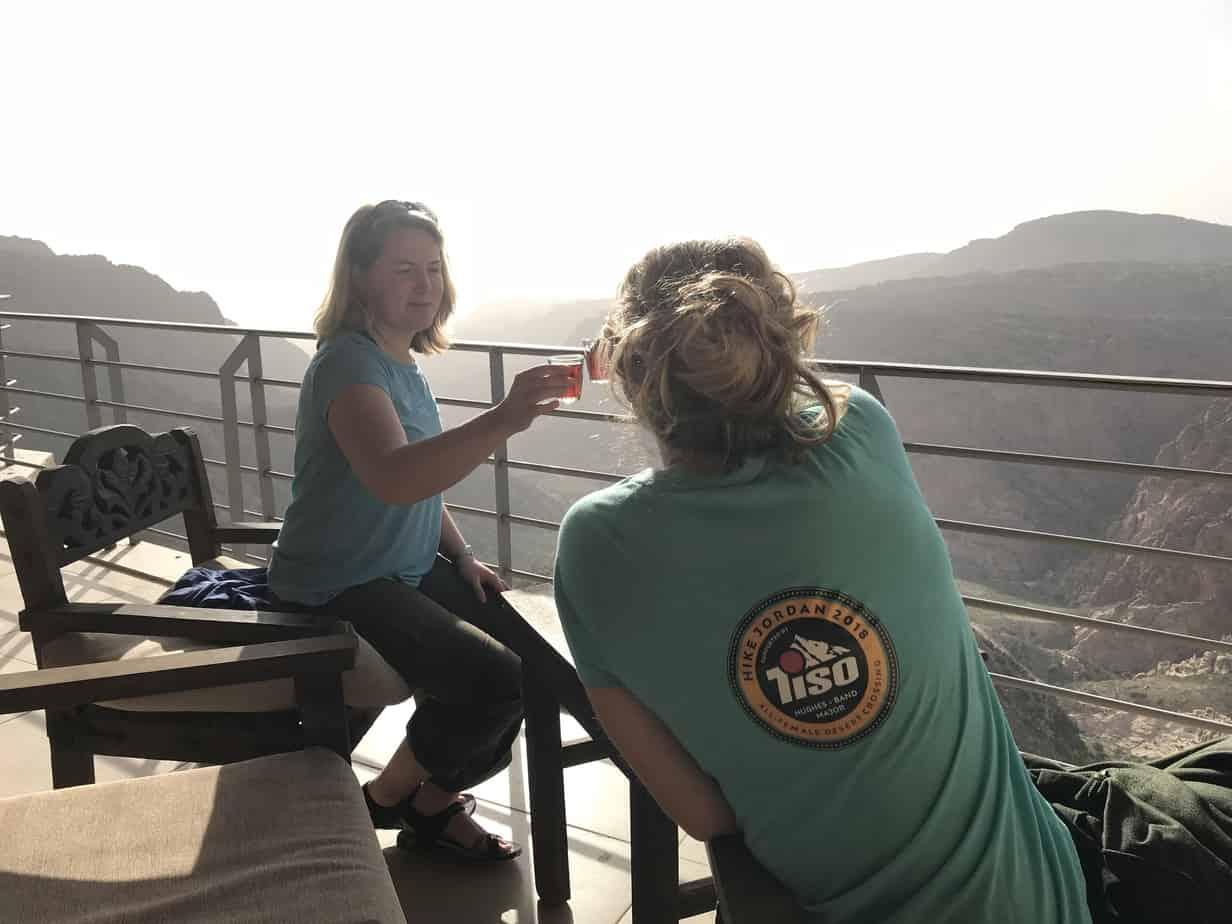 Bedouin tea on the Jordan Trail