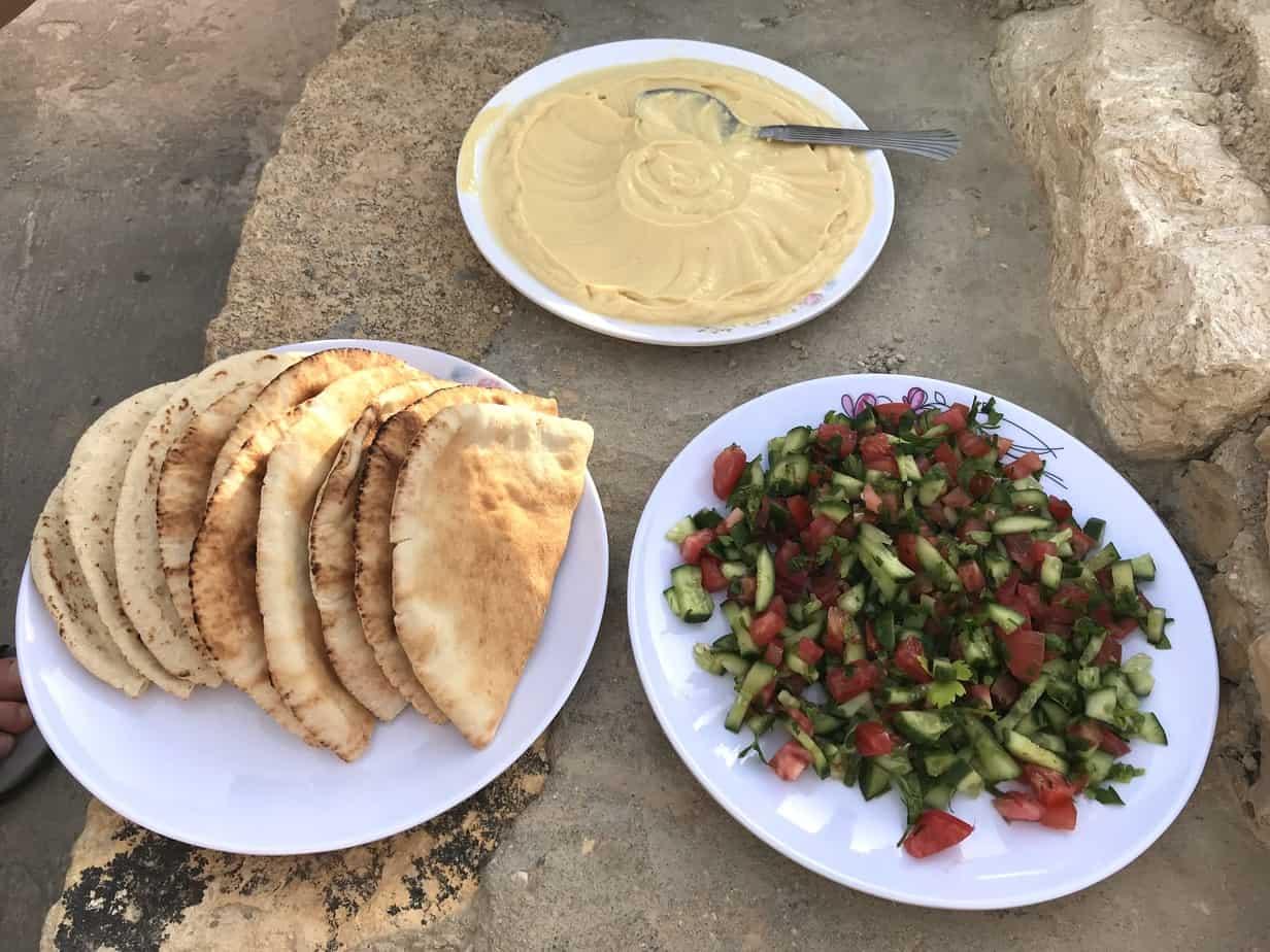 Food on the Jordan Trail