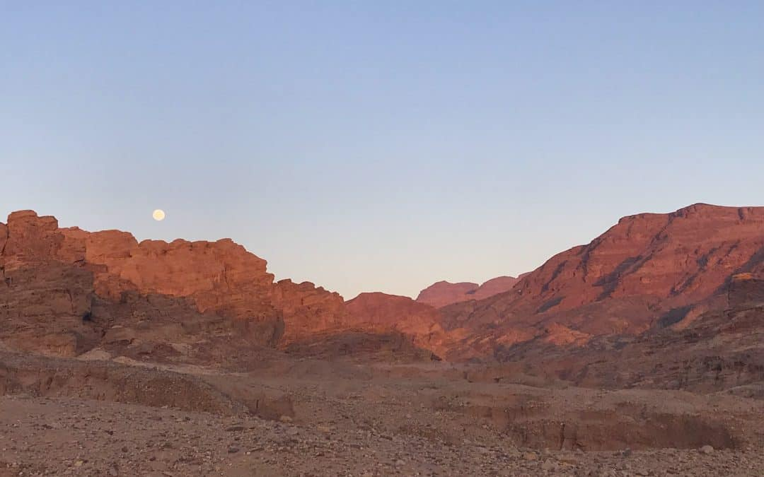 Day 7 on the Tiso Hike Jordan Expedition