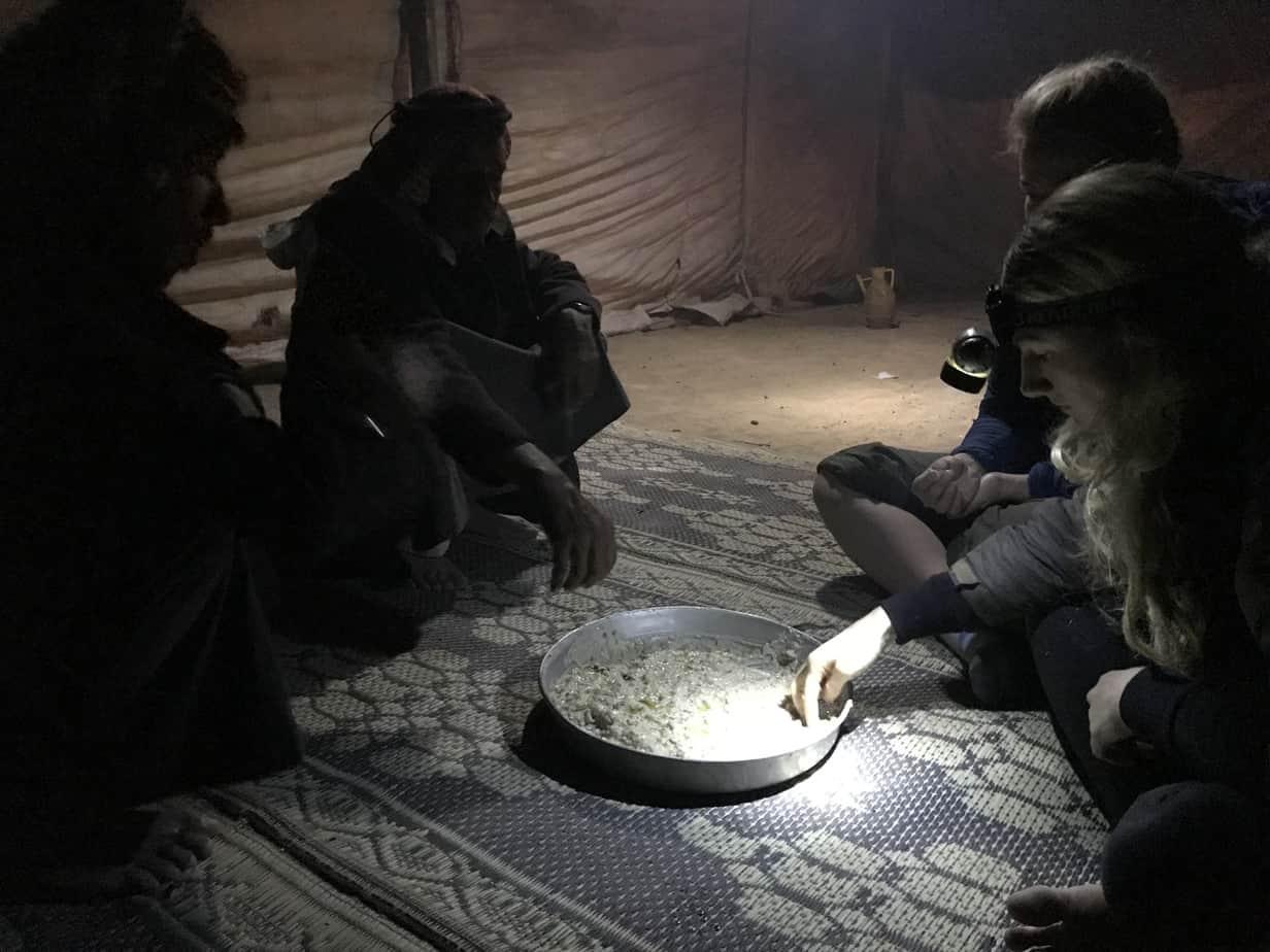 Traditional Bedouin food Jordan
