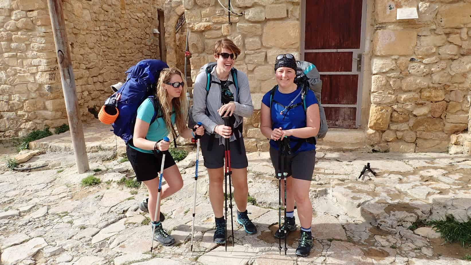 Jordan Trail daily journal