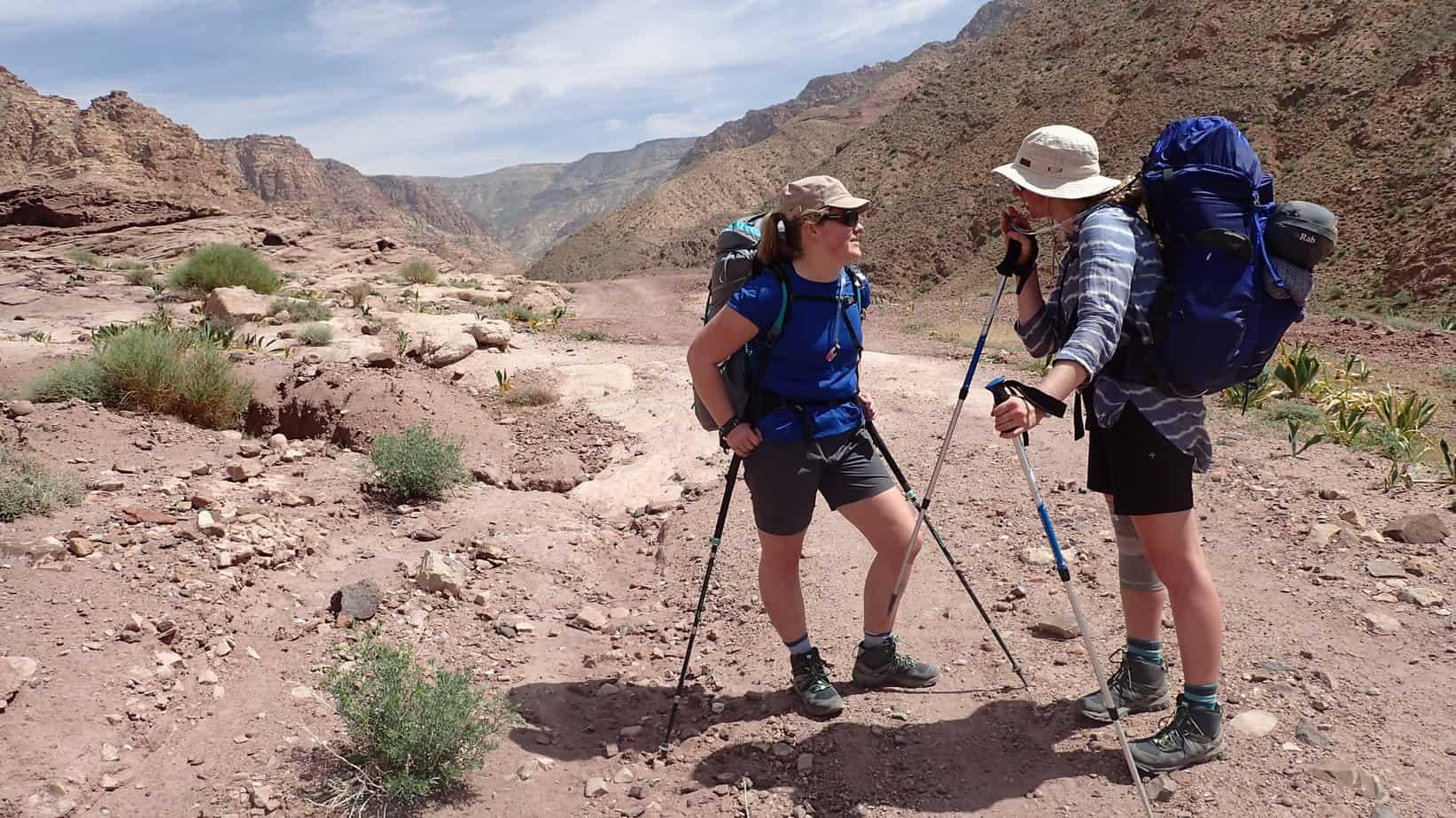 Tiso Hike Jordan expedition