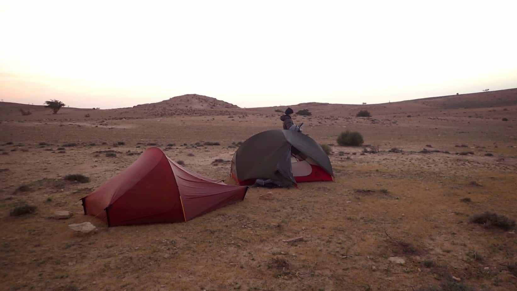 4 day hike Dana to Petra
