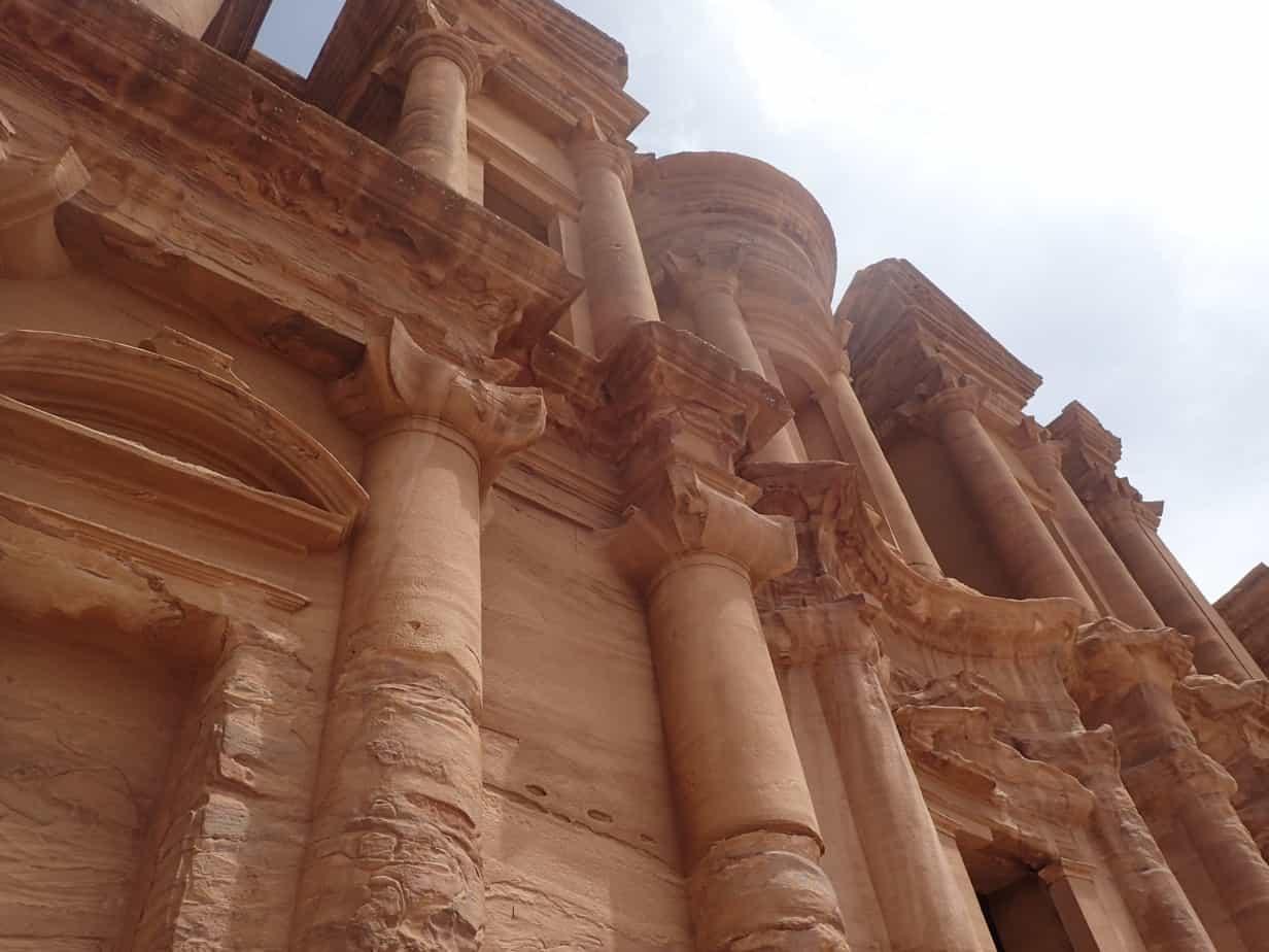 Hiking to Petra, Jordan